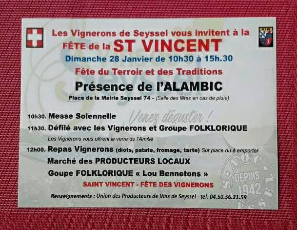 Fete de la Saint Vincent